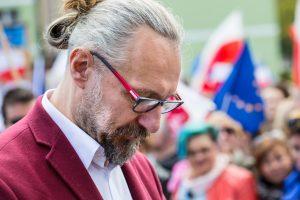Mateusz Kijowski, disgraced leader of KOD